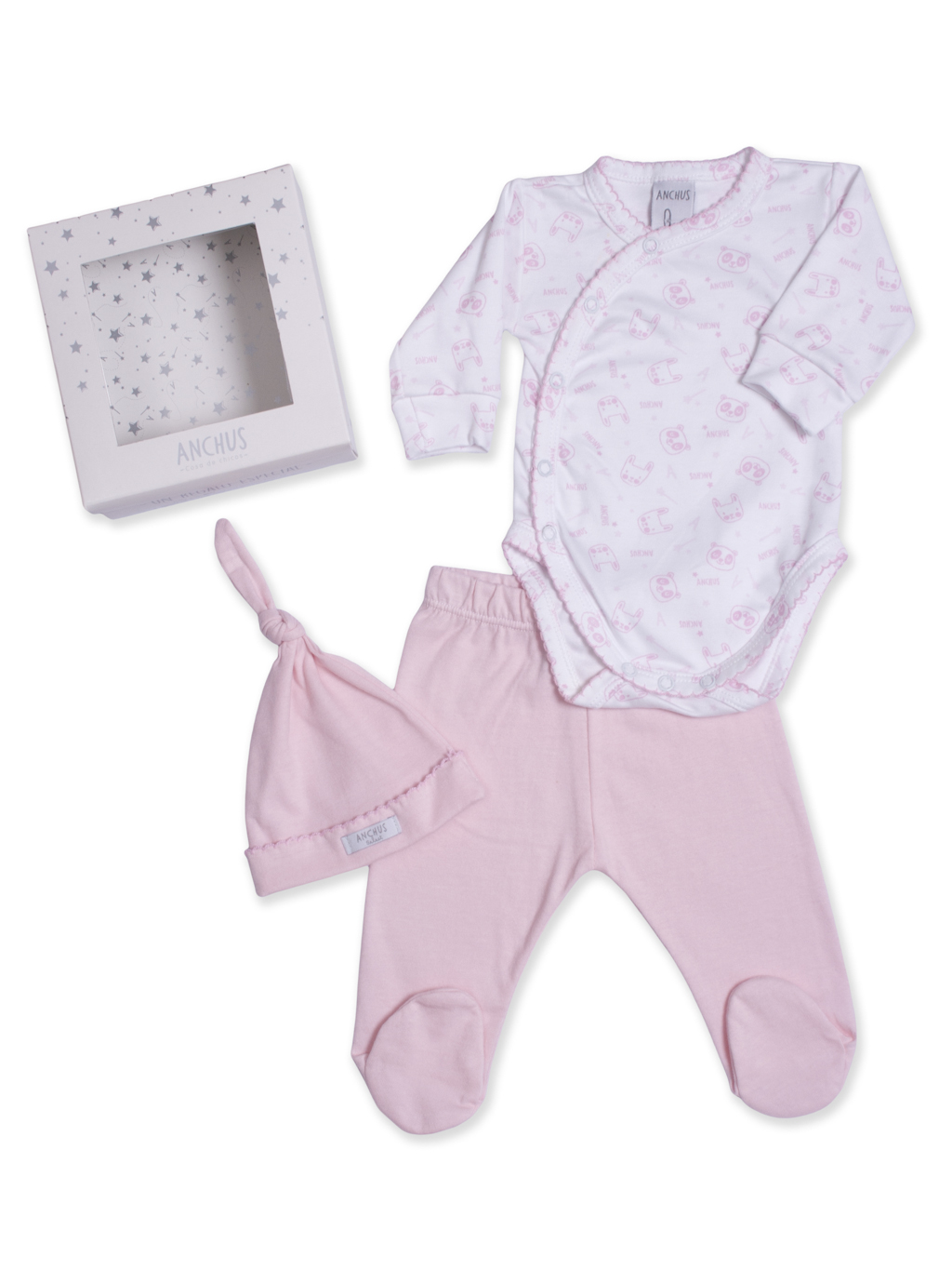 Conj body ranita exclusivo Rosa ML