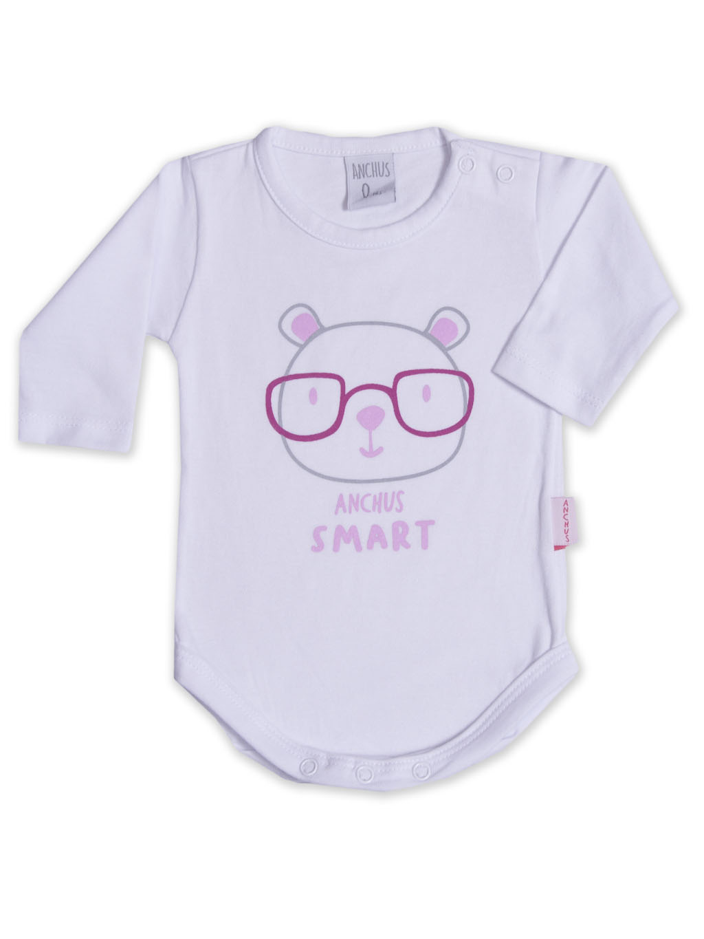 Body ml con estampa Smart Rosa