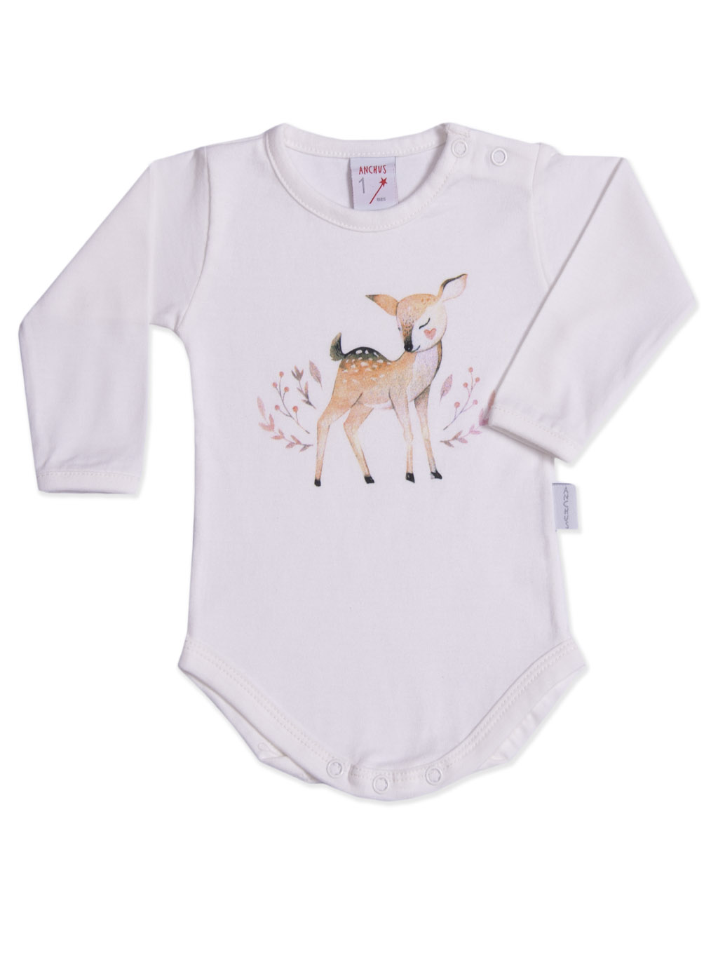 Body ml Estampa Bambi crudo