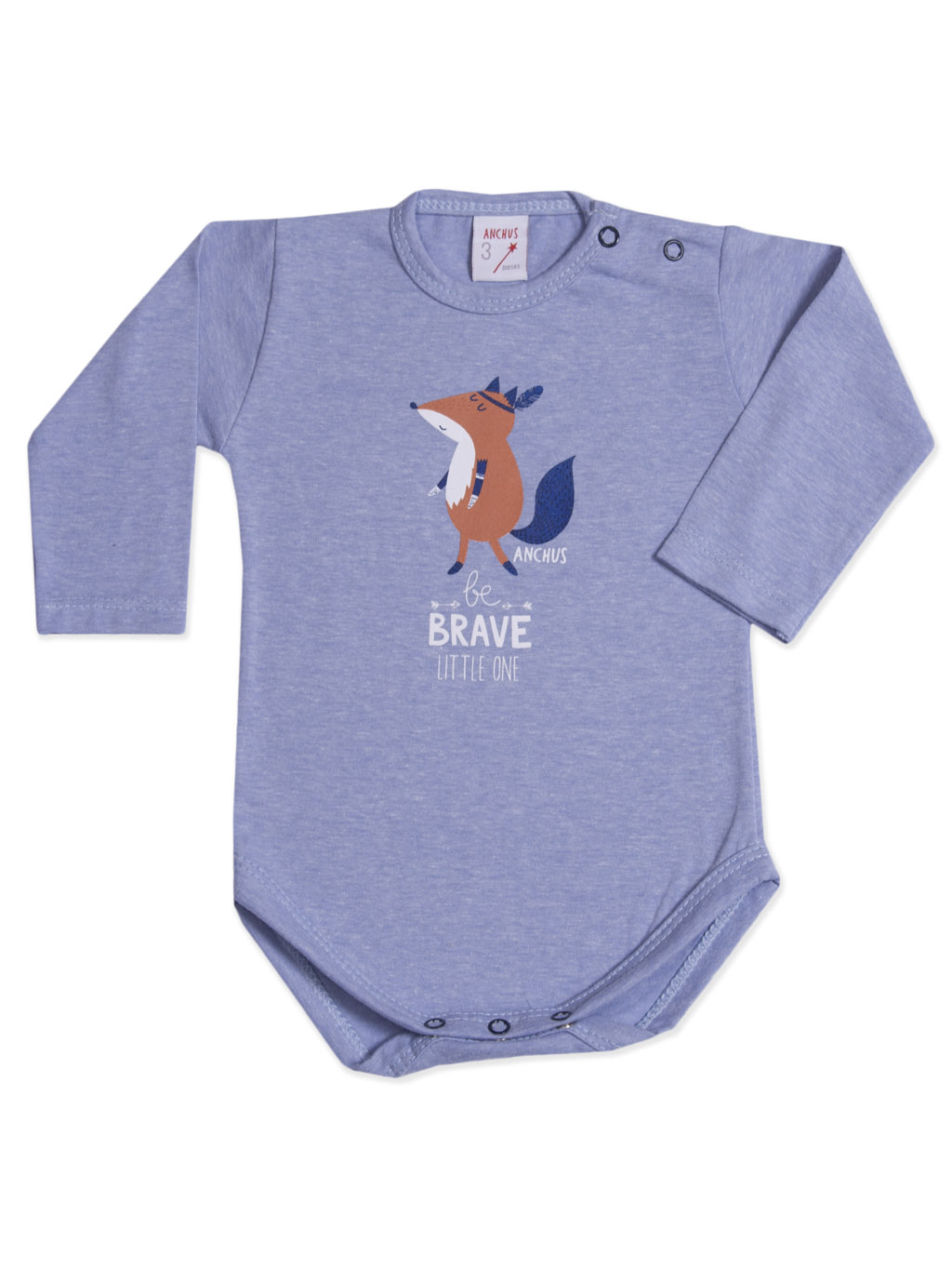 Body ml estampa Zorrito Brave