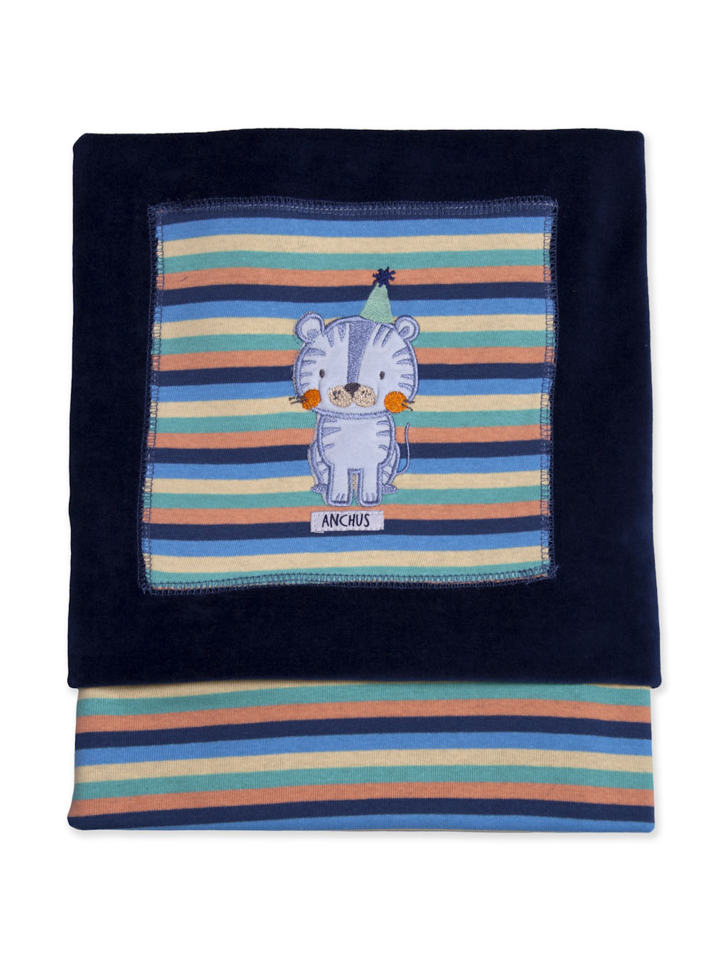 Manta Plush Reversible I21 Tigre